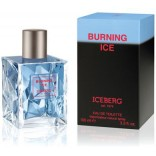 Iceberg Burning Ice for Man