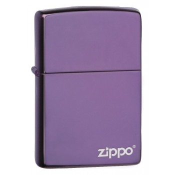 Zippo Abyss Lighter with Zippo Logo